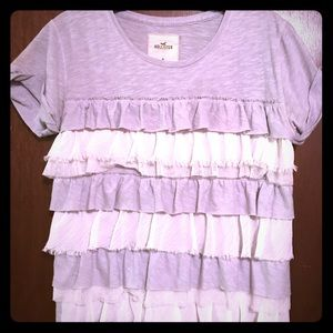 Hollister Ruffled Blouse